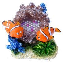 Europet Bernina - Aqua Della - Décoration Poisson Clown pour Aquarium - Type 3