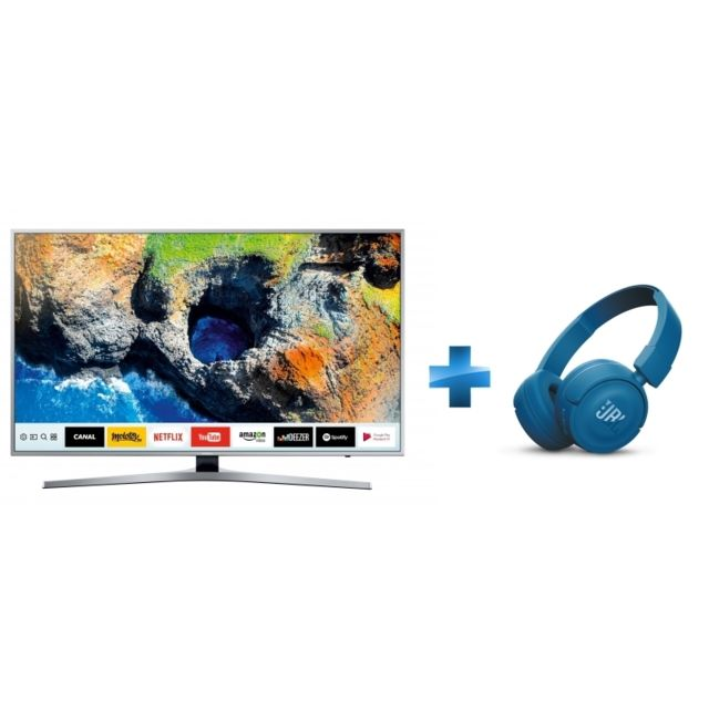Samsung Tv Led 55 139cm Ue55mu6405 Casque à Arceau Bluetooth