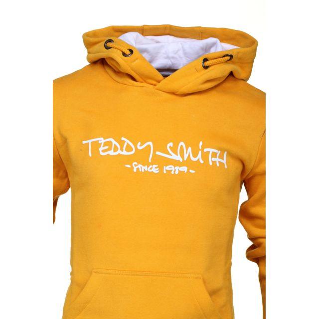 bonne vente de chaussures mode attrayante images détaillées Teddy Smith - Siclass Hoody Jr 60815916 608a Winter Yellow ...