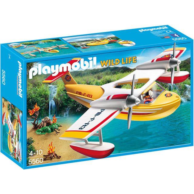 PLAYMOBIL - Hydravion de sauvetage - 5560