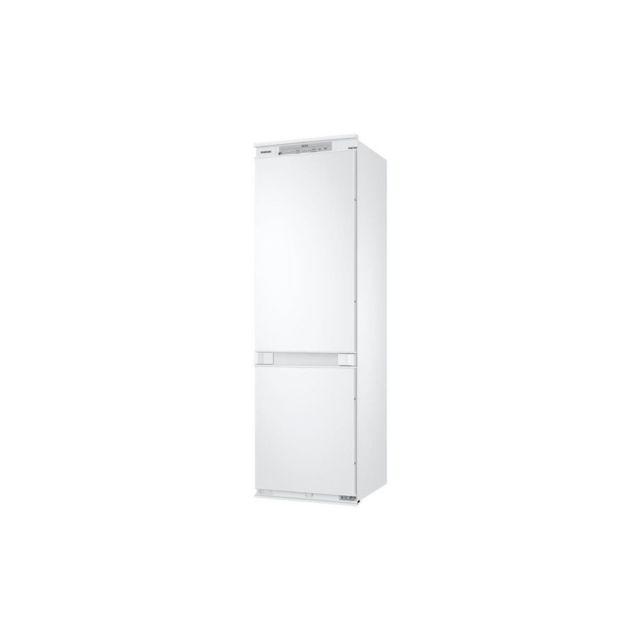 Samsung BRB260000WW - Refrigerateur encastrable - 268 L 196 + 72 L - Froid ventile integral - A+ - L 54 x H 177,5 cm - Blanc