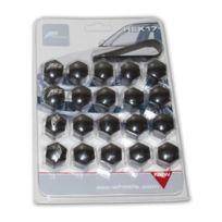 Aez - 20 Caches Boulons Noirs - Cle 17