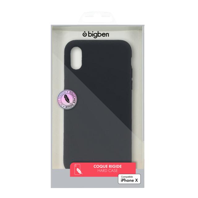 bigben connected coque rigide pour iphone x covsoftip8bl noir pas cher achat vente. Black Bedroom Furniture Sets. Home Design Ideas
