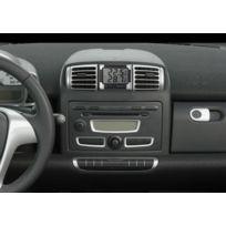 Adnauto - Thermometre interieur/exterieur noir/argent