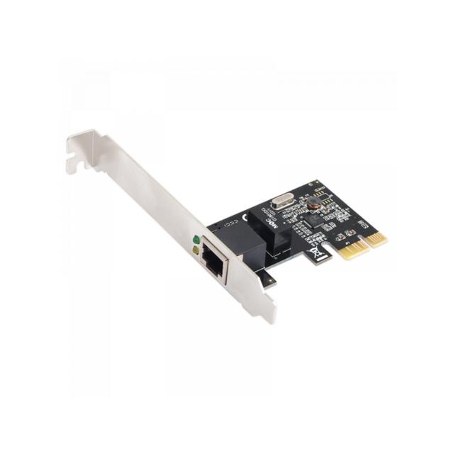 Ineck Carte Reseau Gigabit Pcie Rj45 Port 1gbit Pci Express Ethernet Lan Card 10 100 1000mbps Pour Windows Win7 10 Xp And Linux Pas Cher Achat Vente Convertisseur Audio Et Video Rueducommerce