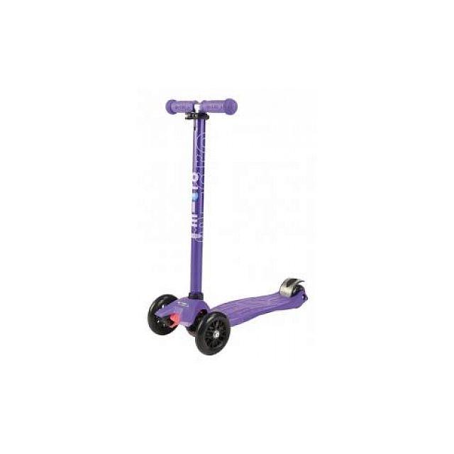 Micro Trottinette Maxi Violet Barre anodisée