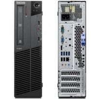LENOVO - ThinkCentre M81 5049-P14 - Desktop - Intel Core i3 2120 3.3 Ghz - RAM 4 Go - HDD 250 Go SATA - DVD-ROM - Intel HD Graphics 2000 - Windows 10 Home MAR 64 bits