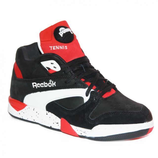38919dca4fe0 Reebok - Basket Victory Pump Black red white reedition Noir - 39 - pas cher  Achat / Vente Baskets homme - RueDuCommerce