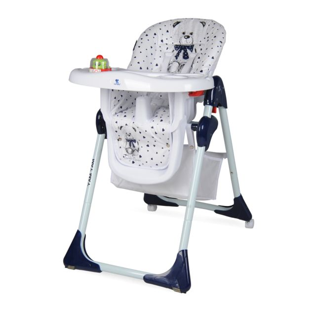 lorelli chaise haute r glable evolutive pour b b yam. Black Bedroom Furniture Sets. Home Design Ideas