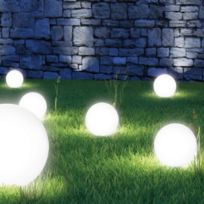 ProBache - Lampe boule 20 cm solaire design