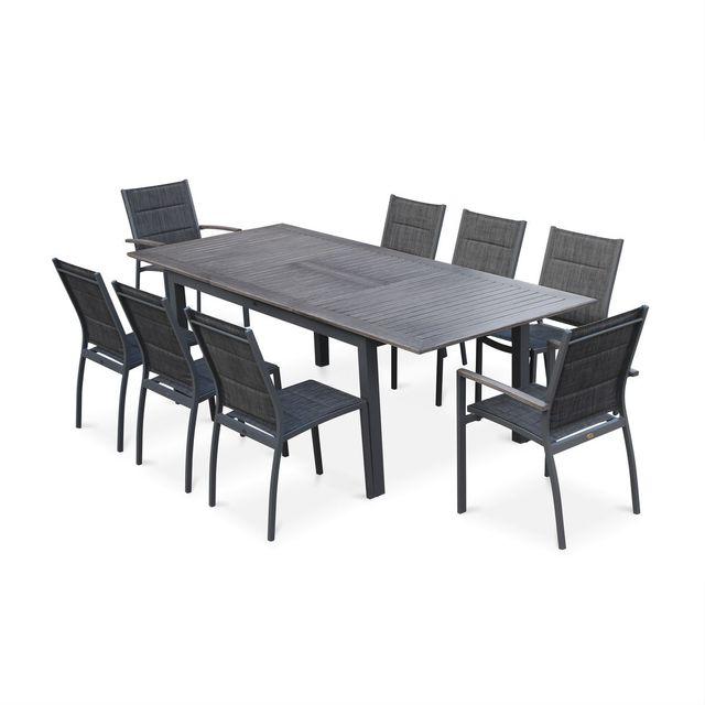 Table de jardin aluminium extensible - Achat/Vente Table de jardin ...