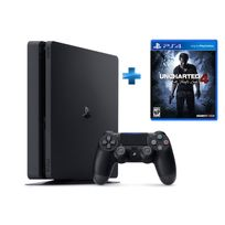 Pack Nouvelle PS4 500GO + Uncharted 4