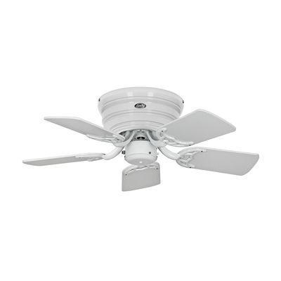 boutica design ventilateur de plafond classic flat 75 iii 79cm blanc gris clair blanc. Black Bedroom Furniture Sets. Home Design Ideas