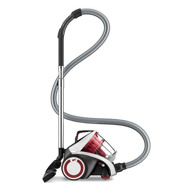 DIRT DEVIL Aspirateur DD5254-0 sans Sac Multi-Cyclonique Blanc/Rouge