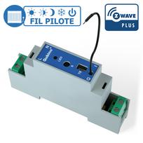 Qubino - Module rail Din Fil Pilote Z-wave Plus