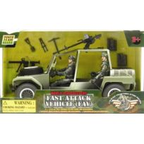 Peterkin - VÉHICULE De Guerre Et Deux Figurines De Soldats - World Peacekeepers Fast Attack Vehicle FAV