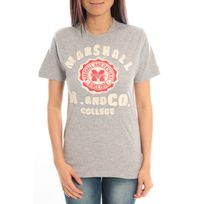 Sweet Company - T-shirt Marshall Original M and Co 2346 Gris