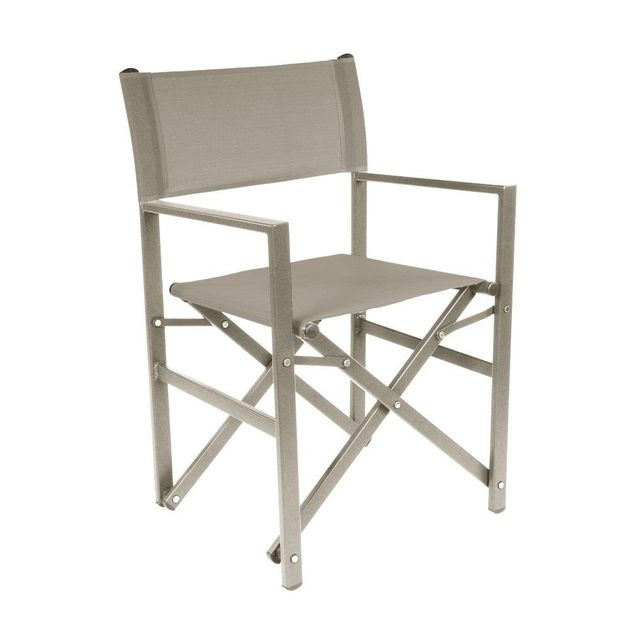 Lebrun Chaise aluminium taupe Borneo