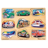 Melissa & Doug - 10267 - Puzzle - Classic Vehicles Sound