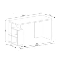 Bureau largeur 85 cm achat bureau largeur 85 cm pas cher for Bureau 85 cm largeur