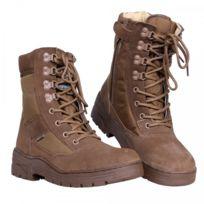 Fostex - Chaussures De Sniper Lacets + Zips Couleur coyote Pointure: 45