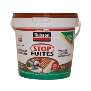 Rubson p te tanch it stop fuite rev tement rouge for Pate a joint plomberie