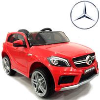 Mercedes - Voiture électrique bébé et enfant pneus Eva 12V Rouge