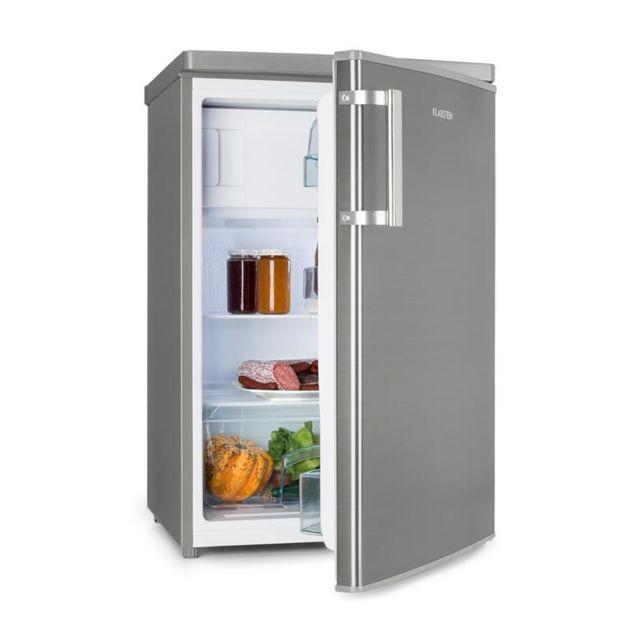 KLARSTEIN CoolZone 120 Eco combi réfrigérateur congélateur A+++ 118L- inox