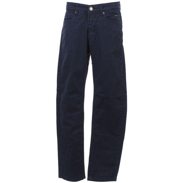 Biaggio - Pantalon Tavela navy pant jr Bleu 58531 - pas cher Achat ... 83808c289325