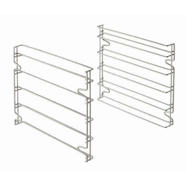 Bartscher Set de deux supports glissieres aux normes patissieres pour utilisation des 5 plaques 600x400