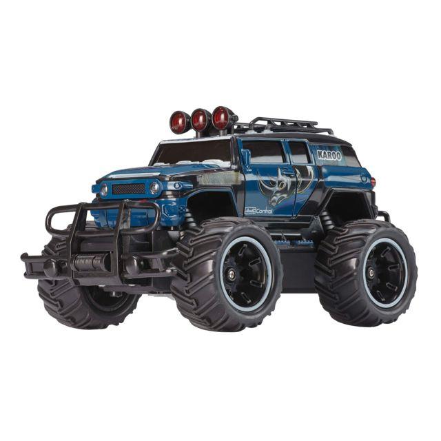 """REVELL Offroad Car """"KAROO"""" RC Monster Truck RC 40 MHz à l'échelle 1/20. Fonctionne à piles, idéal pour les plus jeunes. A partir de 8 ans"""