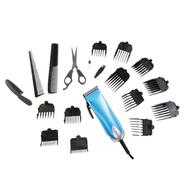 DOMOCLIP Tondeuse à cheveux 19 accessoires DOS107