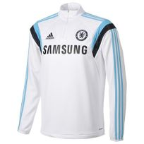 Adidas - Performance-Sweat Chelsea Trg Top Jr Blanc F84114