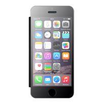 My way - Etui folio plexiglas et cuir pour Apple iPhone 5
