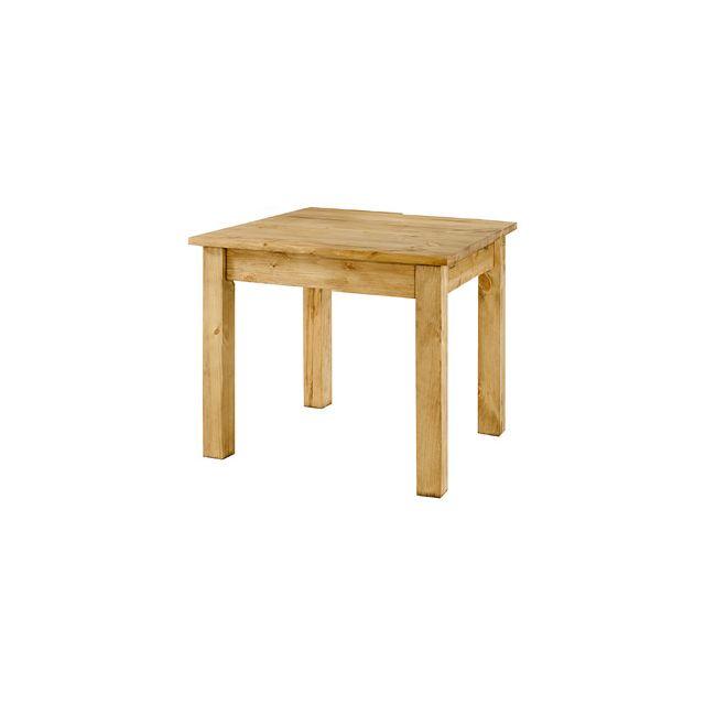 Table repas carrée 90x90 cm - Terro