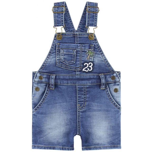 4a1509c1c7207 Salopette bébé garçon en jean