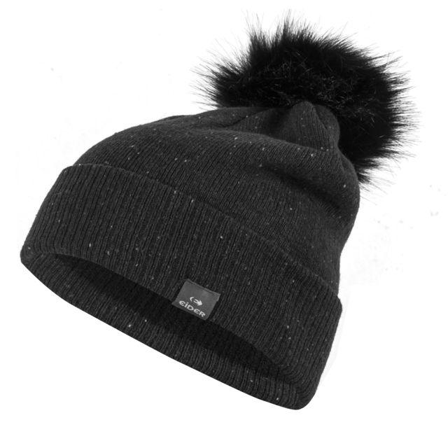 Eider - Bonnet Cole Valley Noir Femme - pas cher Achat   Vente Bonnet de ski  - RueDuCommerce 37eca64c72e