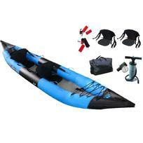 Aquamarina - Aqua Marina - Kayak gonflable K2 Biplace + Sac + Pompe