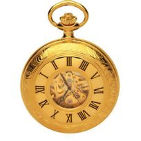 Royal London - Montre mécanique Gousset homme Métal dorée - 90009-01