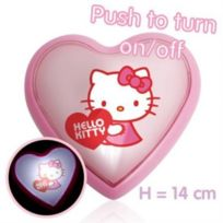 Icolor - Veilleuse led coeur Hello Kitty