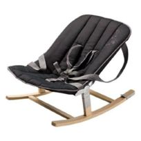Geuther - Transat Rocco Naturel Assise Tissu Noir