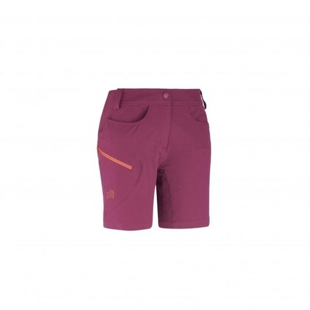 Millet - Short Ld Trekker Stretch Velvet Red - pas cher Achat   Vente Short  femme - RueDuCommerce e80e5f7bd5f