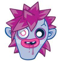 Mask-arade - Masque en Carton Zommer -moshi Monsters