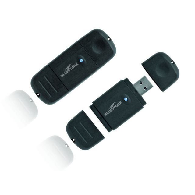 BLUESTORK - Lecteur de cartes SD HC, /MMC - Evolutive - USB 2.0 - BS-RDR-SDMMC