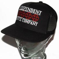 Independent - Casquette snapback trucker headline Mesh noir