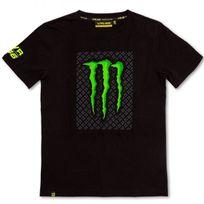 Vr 46 - T-shirt 01 Monster Black Vr46