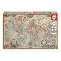 Educa - Puzzle 1000 pièces : Carte politique