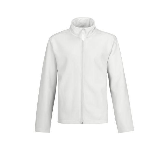 B&C PRO B&C - Veste softshell - Homme 2XL, Blanc Utrw4835