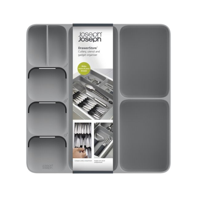 JOSEPH JOSEPH DrawerStore GM - Range tiroir - Gris