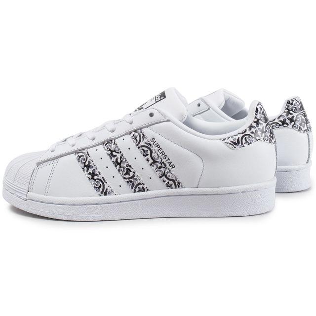 Adidas originals - Superstar The Farm Company F Blanc Noir